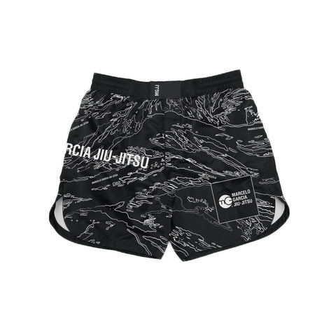 MGJJ Grappling Shorts, Tiger Camo