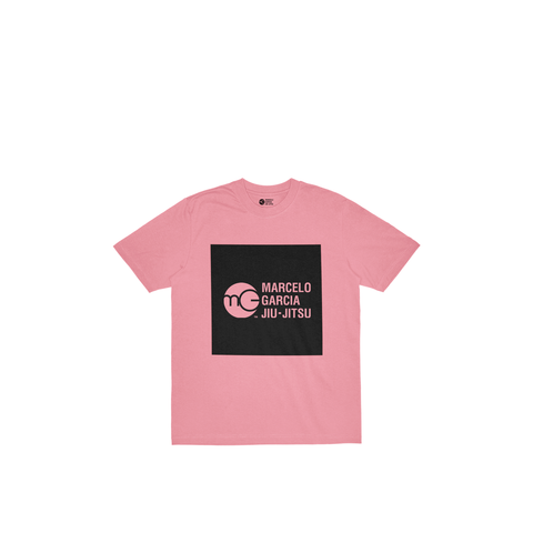 MGJJ Youth Box Logo, Pink
