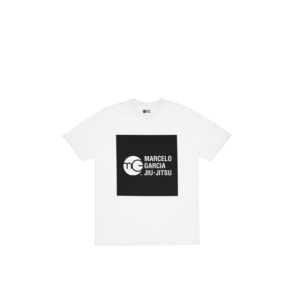 MGJJ Youth Box Logo, White