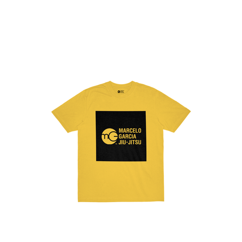 MGJJ Youth Box Logo, Yellow