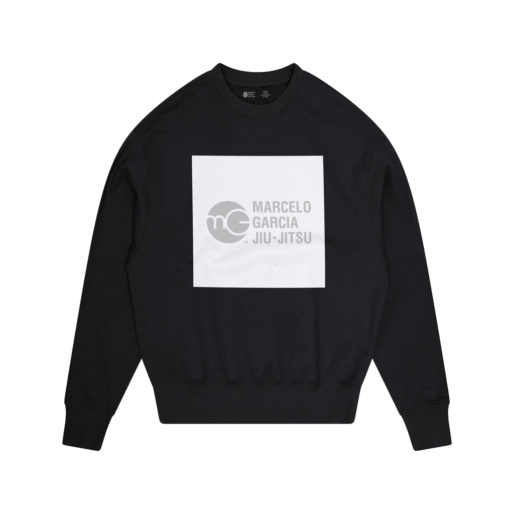 MGJJ Box Logo Sweater, Black