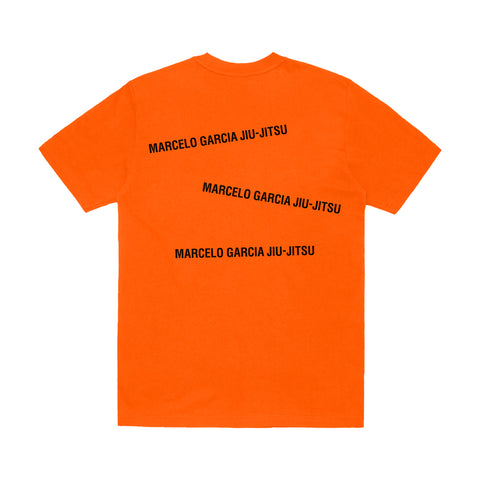 MGJJ Stacked Logotype Tee, Orange
