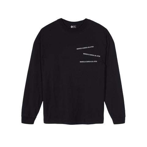 MGJJ Stacked Logotype LS, Black