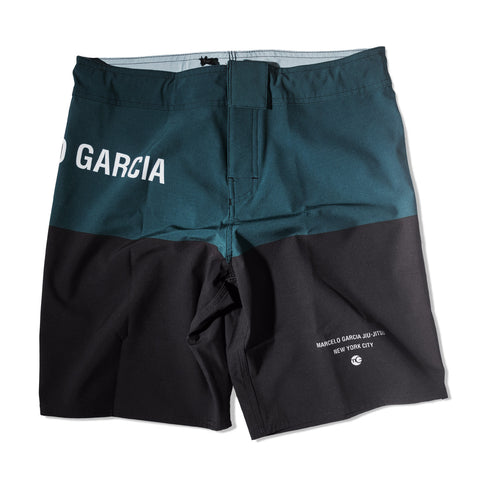 YOUTH Marcelo Garcia Grappling Shorts, Green & Black