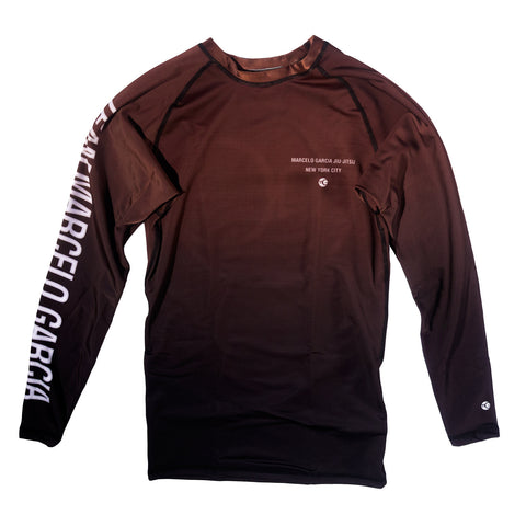 Team MG Rash Guard V2, Brown