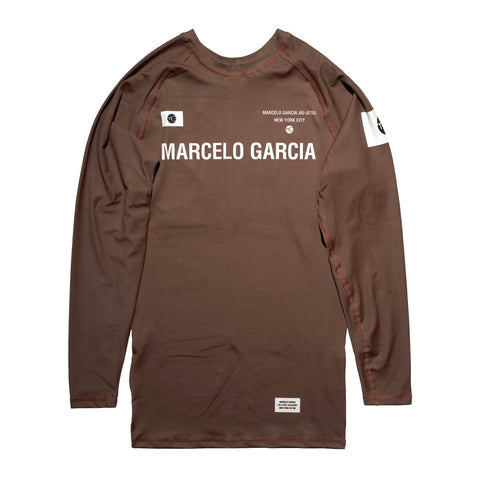 MG Rash Guard V3, Brown