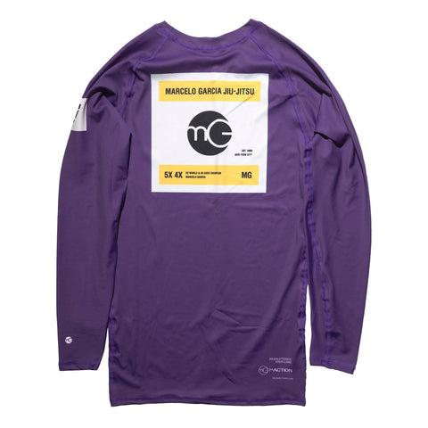 MG Rash Guard V3, LS Purple