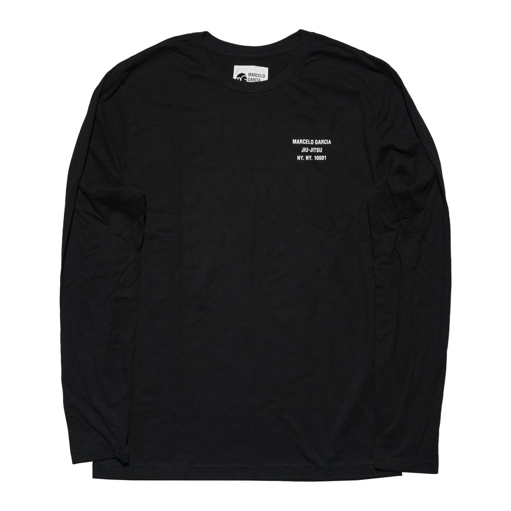 MGJJ Back Logo LS, Black