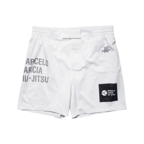 MGJJ Grappling Shorts, White, 10th NYC Anniversary Edition