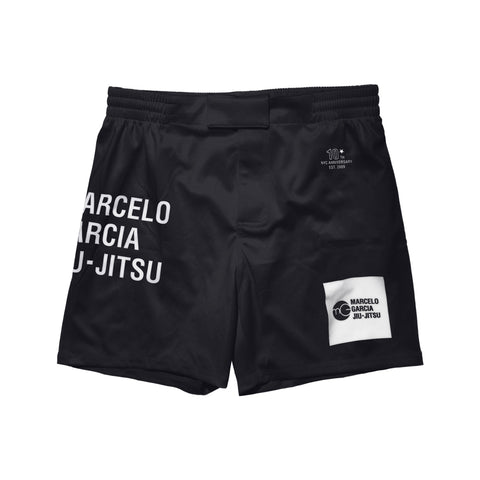 MGJJ Grappling Shorts, Black, 10th NYC Anniversary Edition