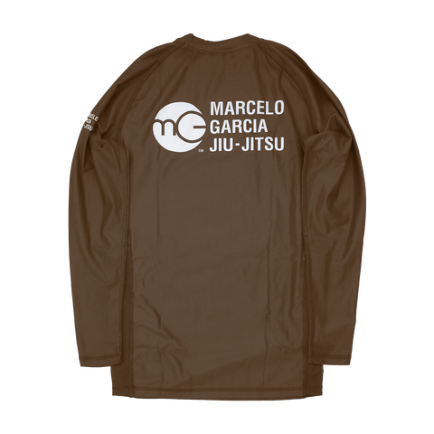 MGJJ Compression Top, LS Brown