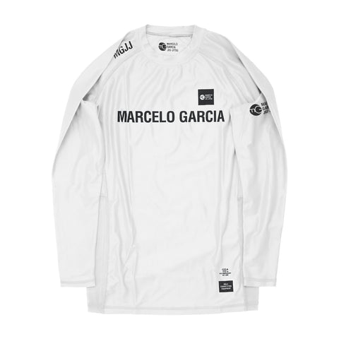 MGJJ Compression Top, LS White, 10th NYC Anniversary Edition