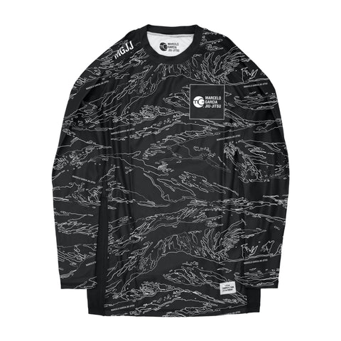MGJJ Compression Top, Tiger Camo