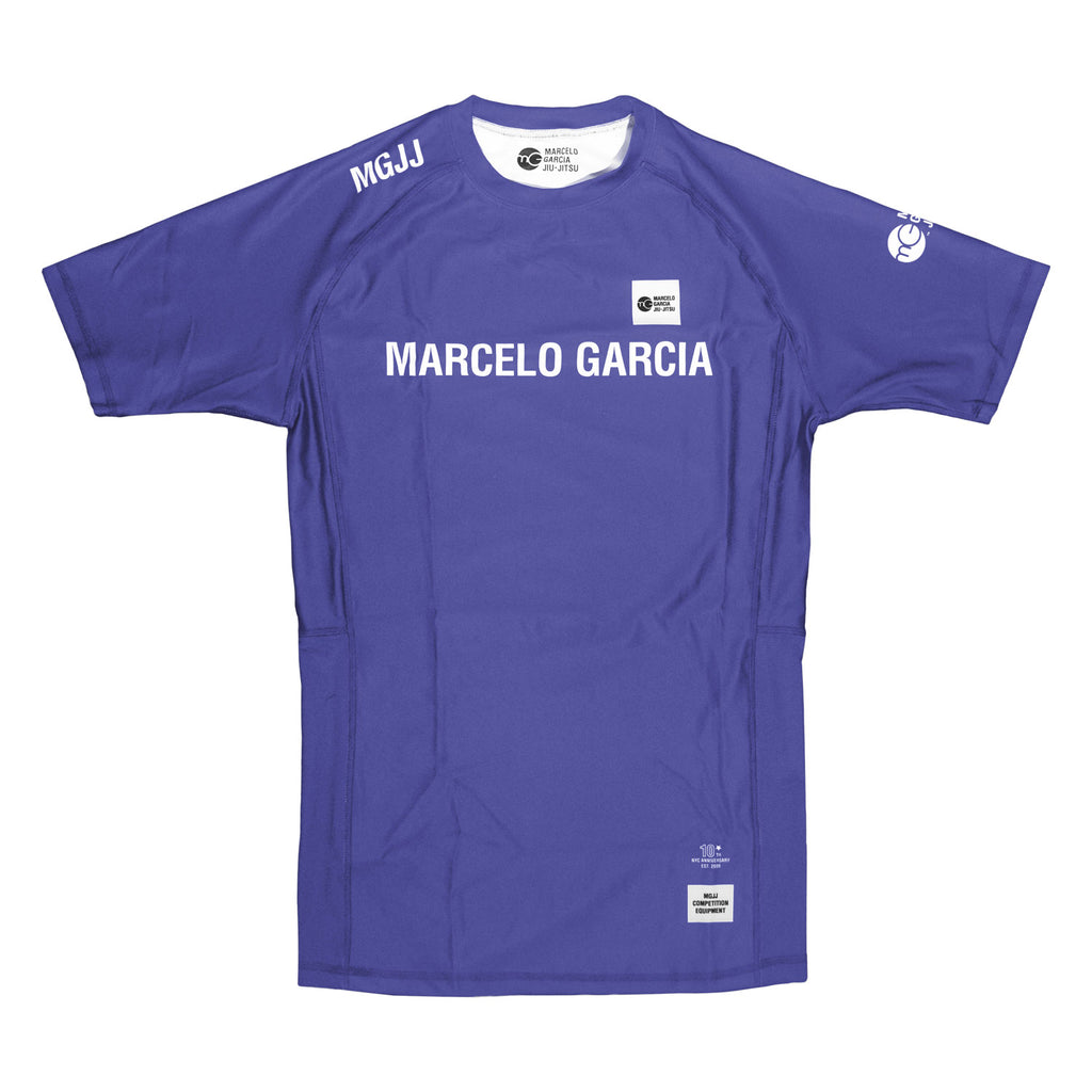 MGJJ Compression Top, SS Purple, 10th NYC Anniversary Edition