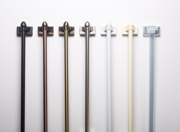 MAGNE ROD® MAGNETIC CURTAIN RODS