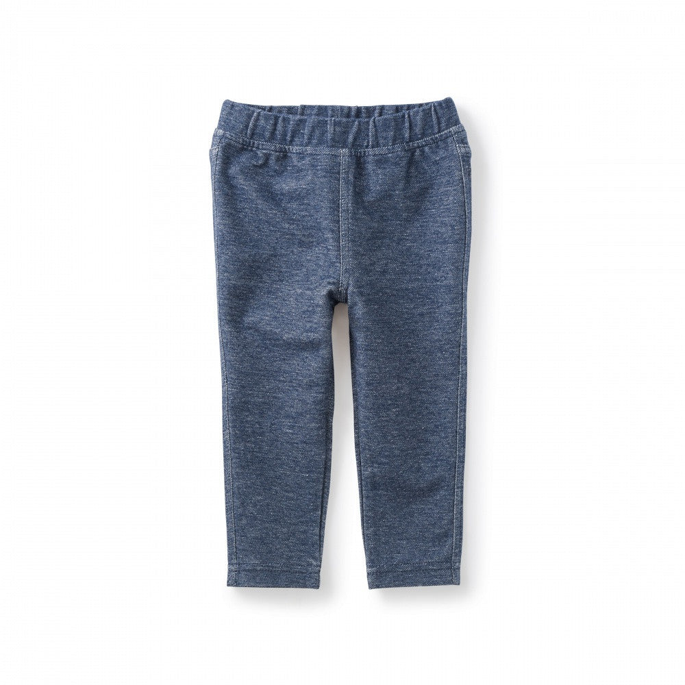 Stretch Denim-Like Baby Pant
