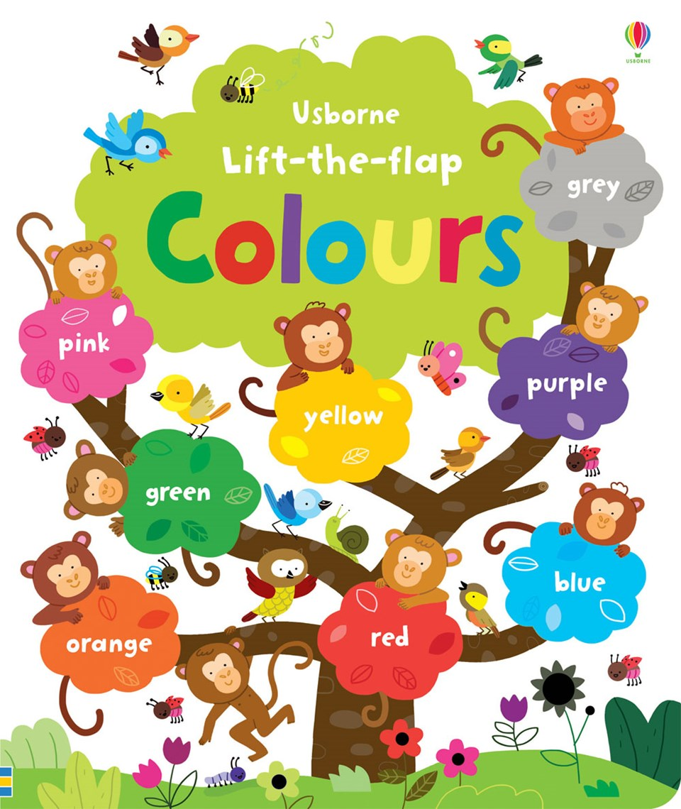 Lift-the-flap: Colours