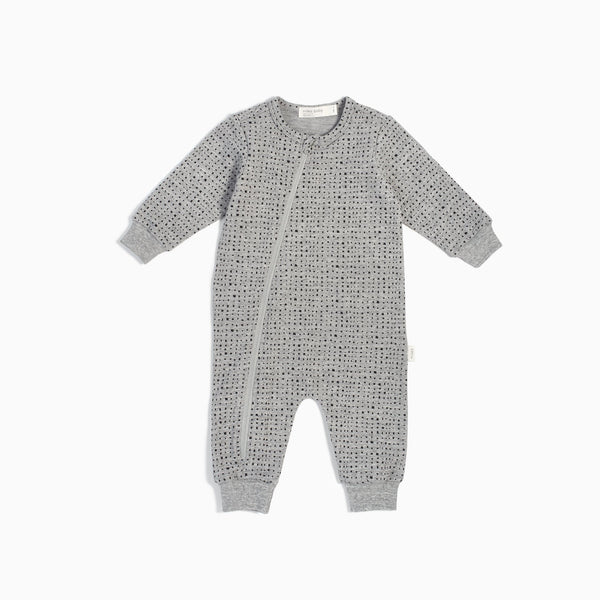 """Miles Basic"" Heather Grey Splashed Playsuit"