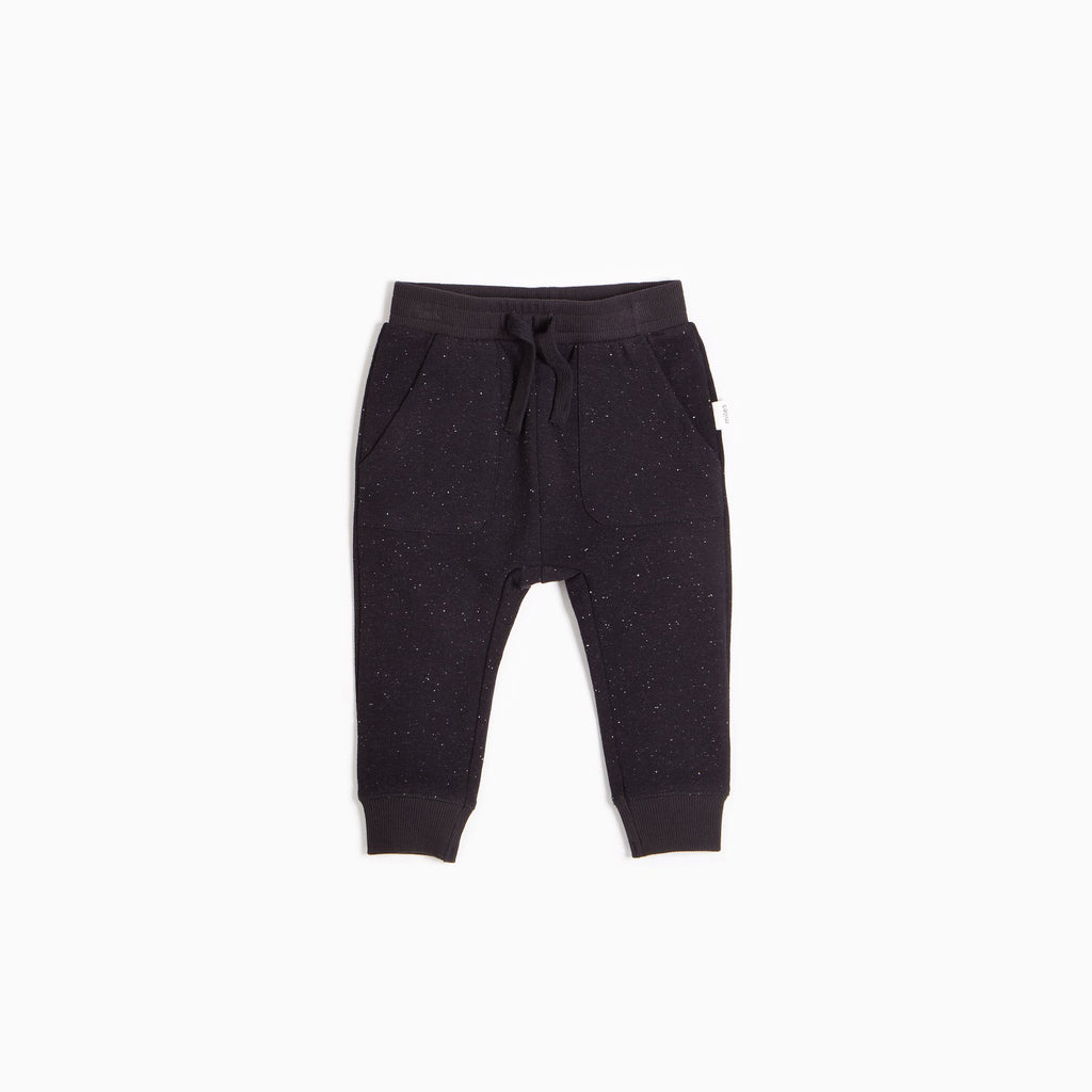 """Miles Basic"" Black Pavement Jogger"