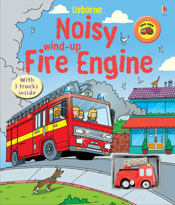Wind-Up Noisy Fire Engine