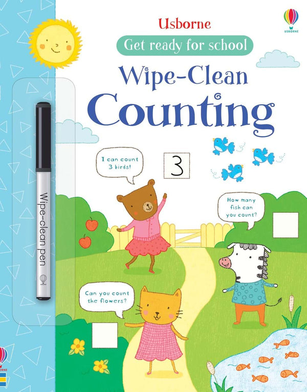 Wipe-Clean : Counting (Get ready for school)