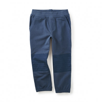 French Terry Moto Pants -Nautilus