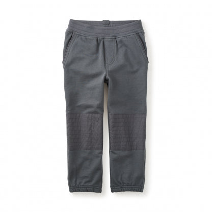 French Terry Moto Pants - Coal