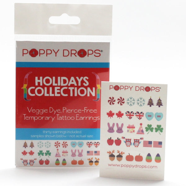 Poppy Drops Holidays Collection