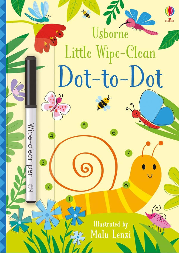 Little Wipe-Clean: Dot-to-Dot