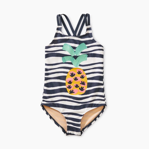 Strappy Pineapple One-Piece (7T, 8T)