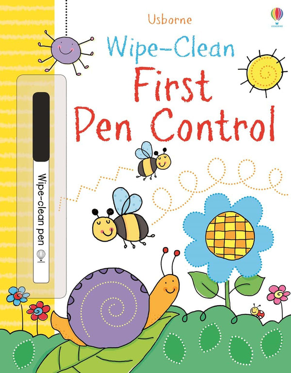 Wipe-clean : First Pen Control (Age 3+)