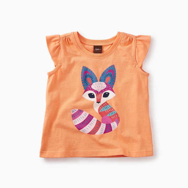 Desert Fox Graphic Baby Tee (3-6M, 6-9M)