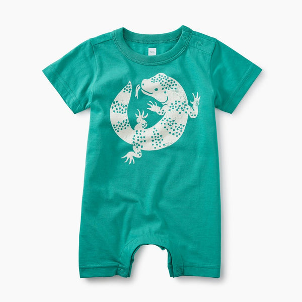 Lizard Graphic Romper (9-12M)