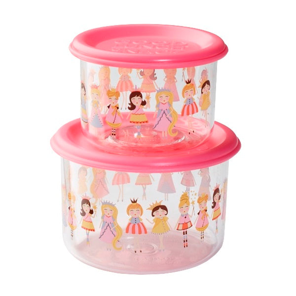 Good Lunch Snack Containers - Princess