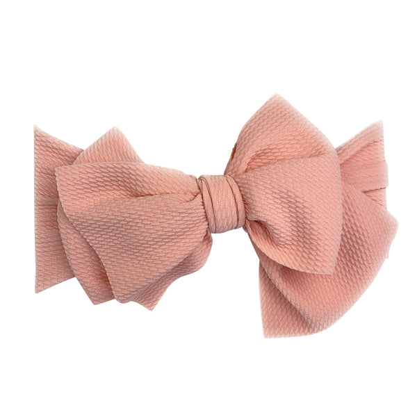 Lana Large Bow Headband - Extra Wide Headwrap