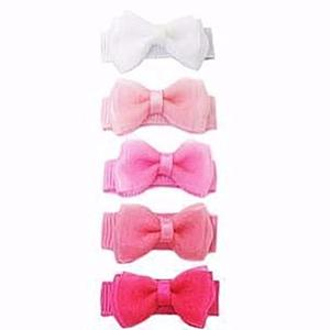 Small Snap Chic Bows 5 Pk