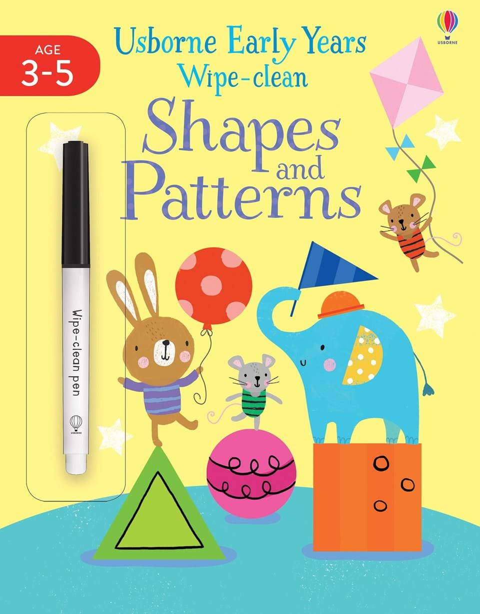 Early Years Wipe-clean: Shapes and Patterns (Year 3-5)