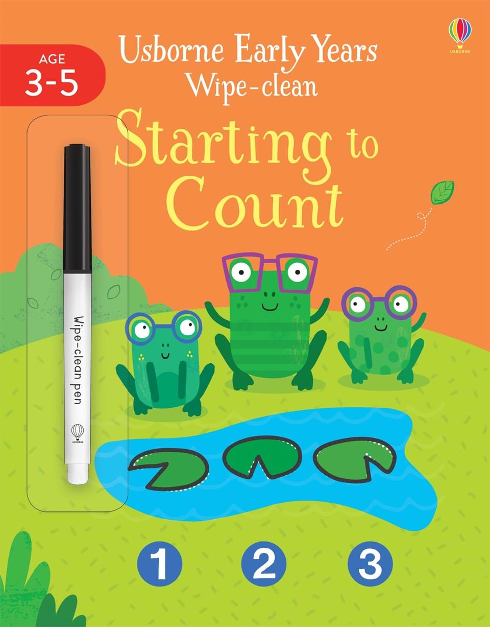 Early Years Wipe-clean: Starting to Count (Year 3-5)