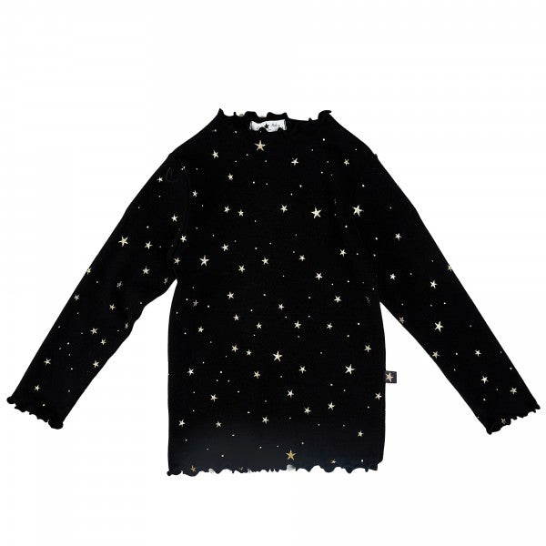 Gold Star Ava Top - Black
