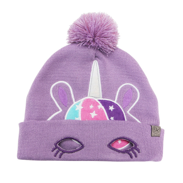 Kids Knitted Toque - Unicorn