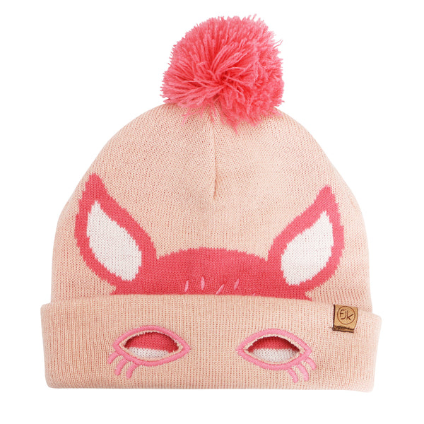 Kids Knitted Toque - Deer