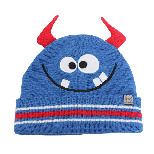 Kids Knitted Toque - Monster