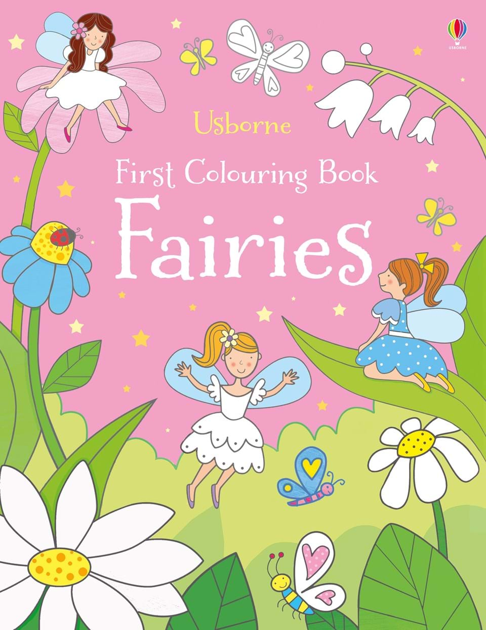 First Colouring Book : Fairies