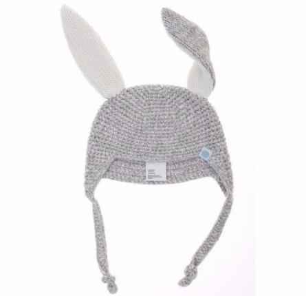 Crochet Bunny Toque