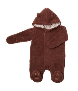 Baby Bear Footie - Mocha