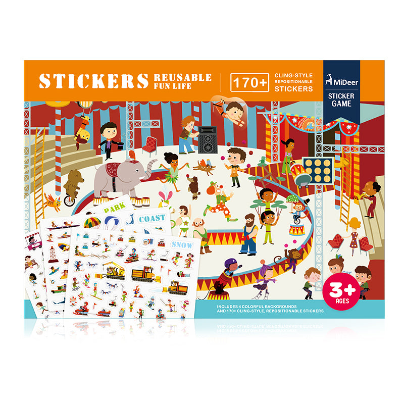Stickers - Reusable