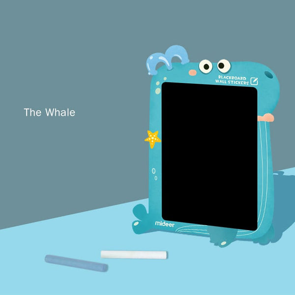 Blackboard Sticker - Whale