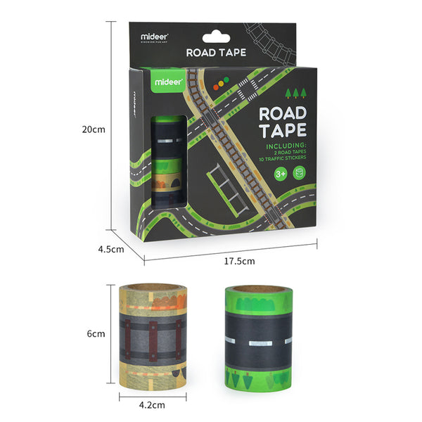 Road Tape (DIY Non-Toxic)