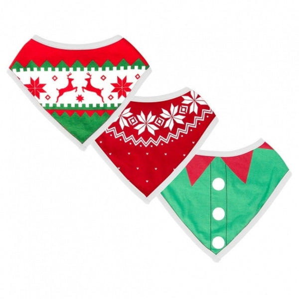 Ugly Sweater Christmas Bibs