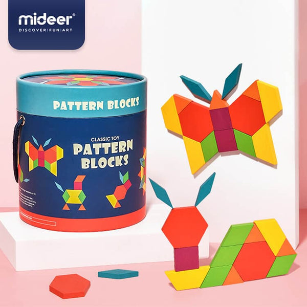 Pattern Blocks (250 pcs)
